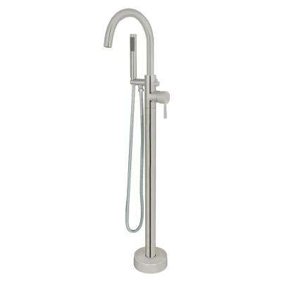 Brushed Nickel Freestanding Bathtub Faucets Bathroom Faucets