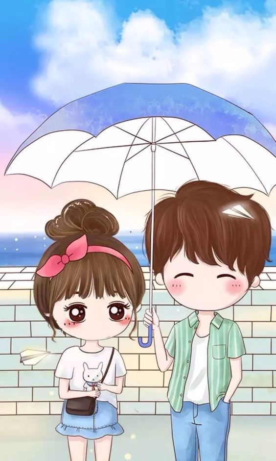 Pin By F On Cute Couple Wallpaper Cute Couple Wallpaper Cartoon Wallpaper Cute Couple Cartoon
