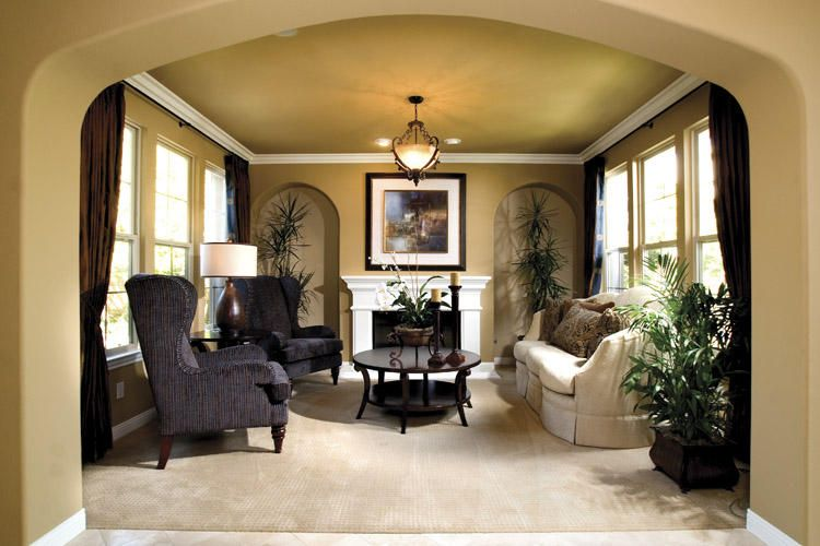 formal living room a little larger for christmas tree - Formal Living Room Design Ideas