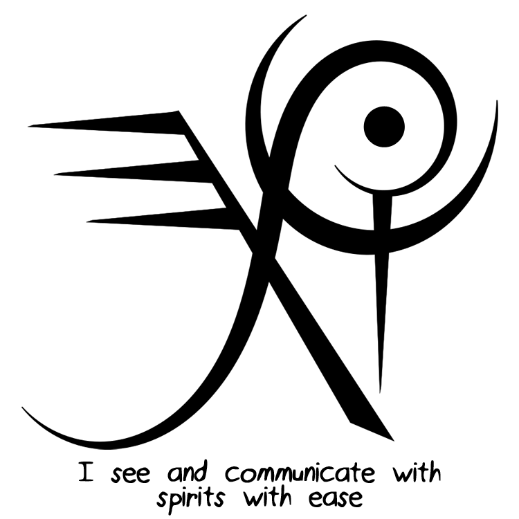 """Sigil Athenaeum - """"I see and communicate with spirits with easy"""
