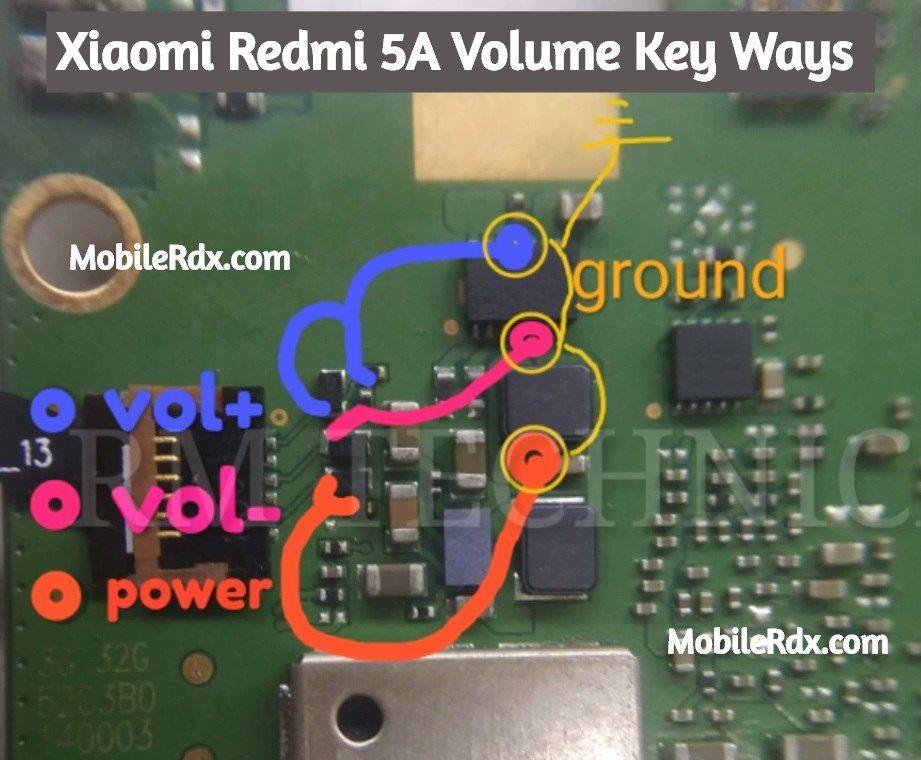 Xiaomi Redmi 5a Volume Keys Not Working Problem Solution Mobile Tricks Xiaomi Smartphone Repair
