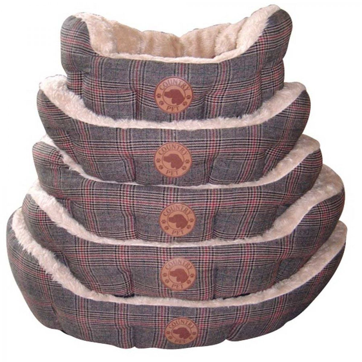 Country Pet Luxury Tweed Dog Bed 50 X 40cm You Can Find Out More Details At The Link Of The Image Fabric Dog Beds Dog Bed Stylish Dog Beds