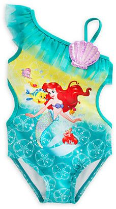 ee3f59a7a2 Disney Ariel Swimsuit for Girls | Cameron | Ariel swimsuit, Little ...