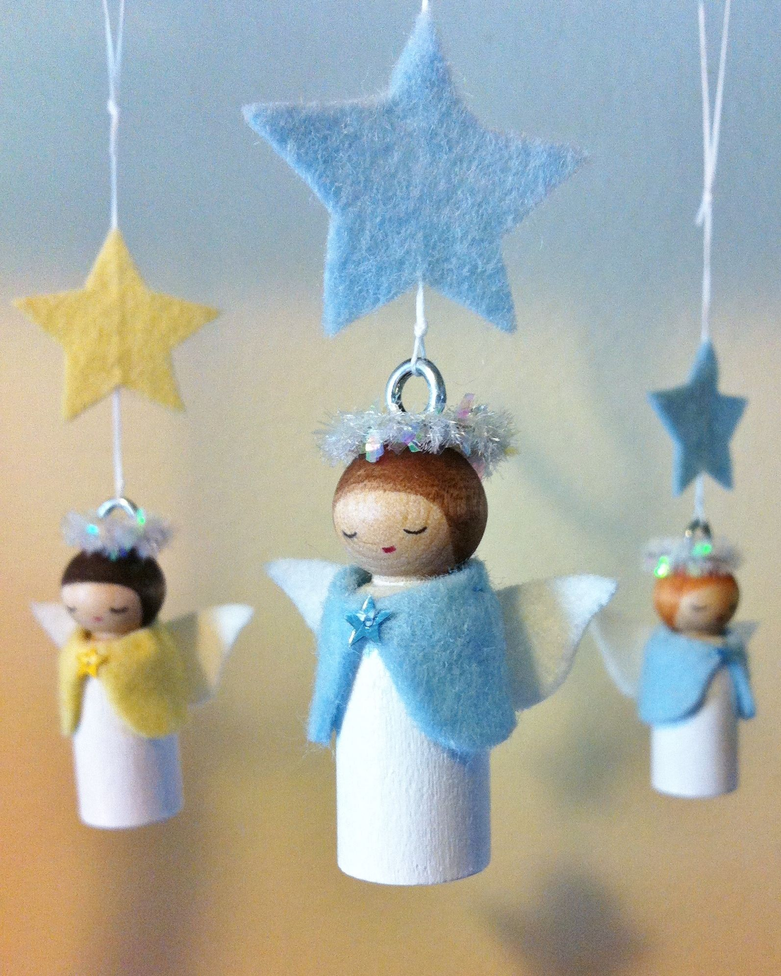 Happy Holidays with Angels — Forest Fairy Crafts