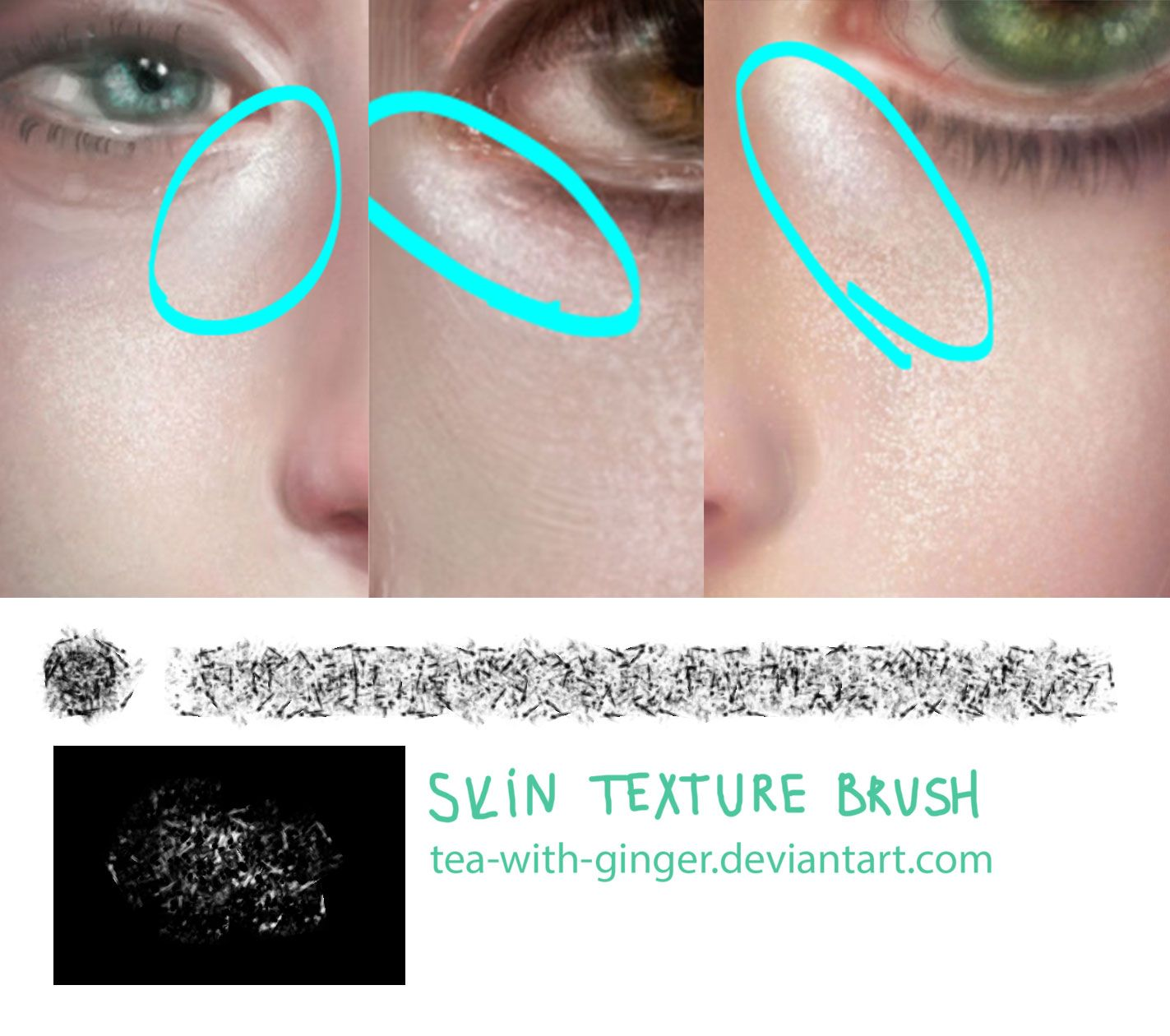 Skin texture brush by Tea-with-Ginger.deviantart.com on ...