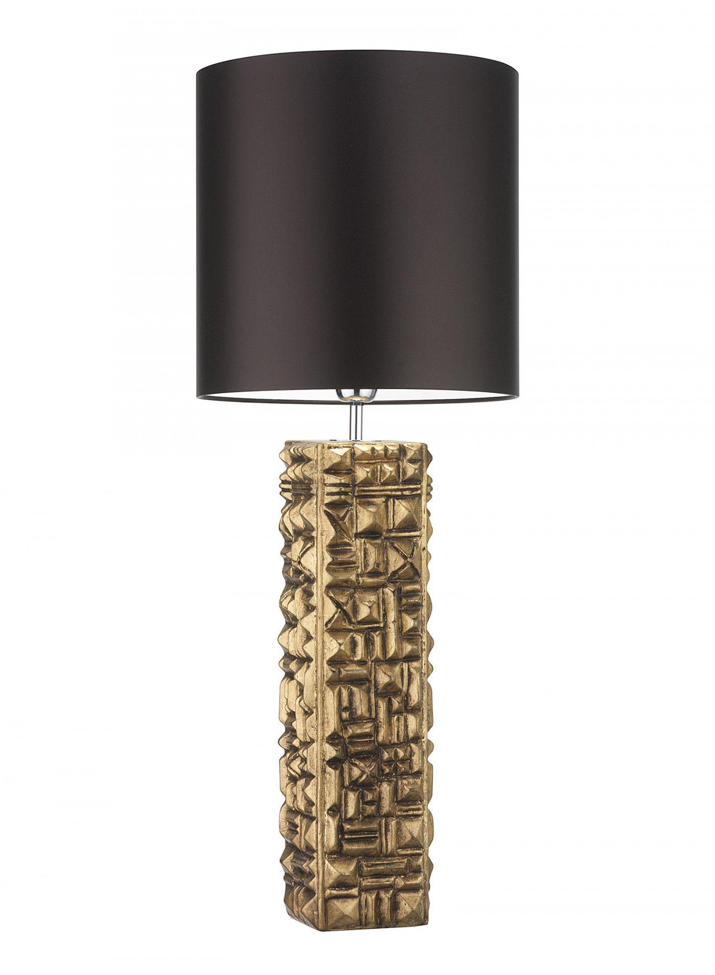Pompidou Gold Leaf Antique Table Lamp Heathfield Co Antique