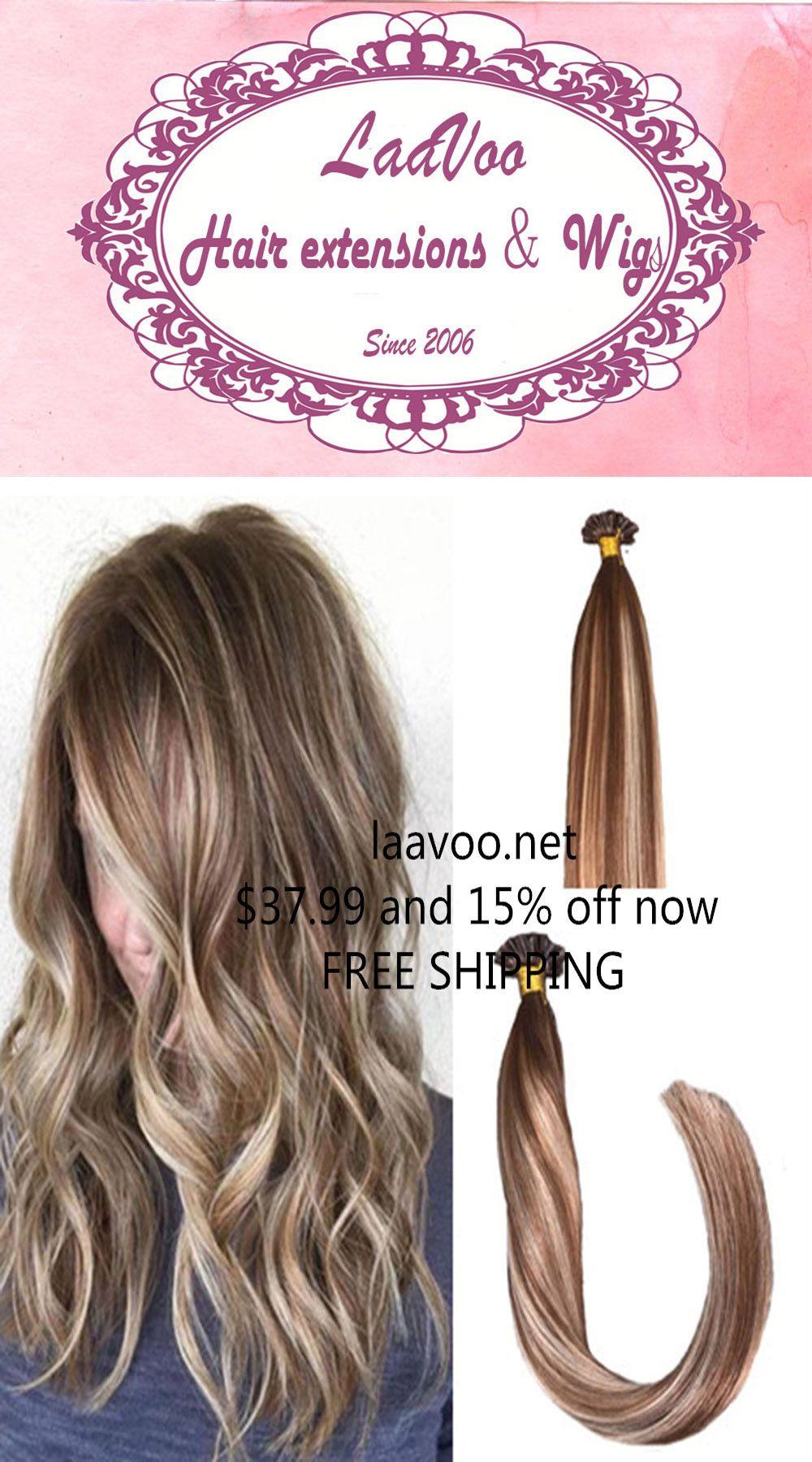 I Tip Balayage Human Hair Extensions See Morehttpslaavoo