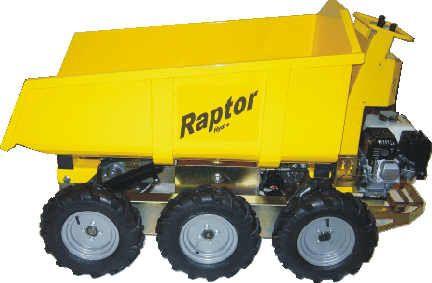 Raptor Dumper 6 ruote - http://www.dvaitaly.it/dva.snc/portfolio/raptor-dumper/