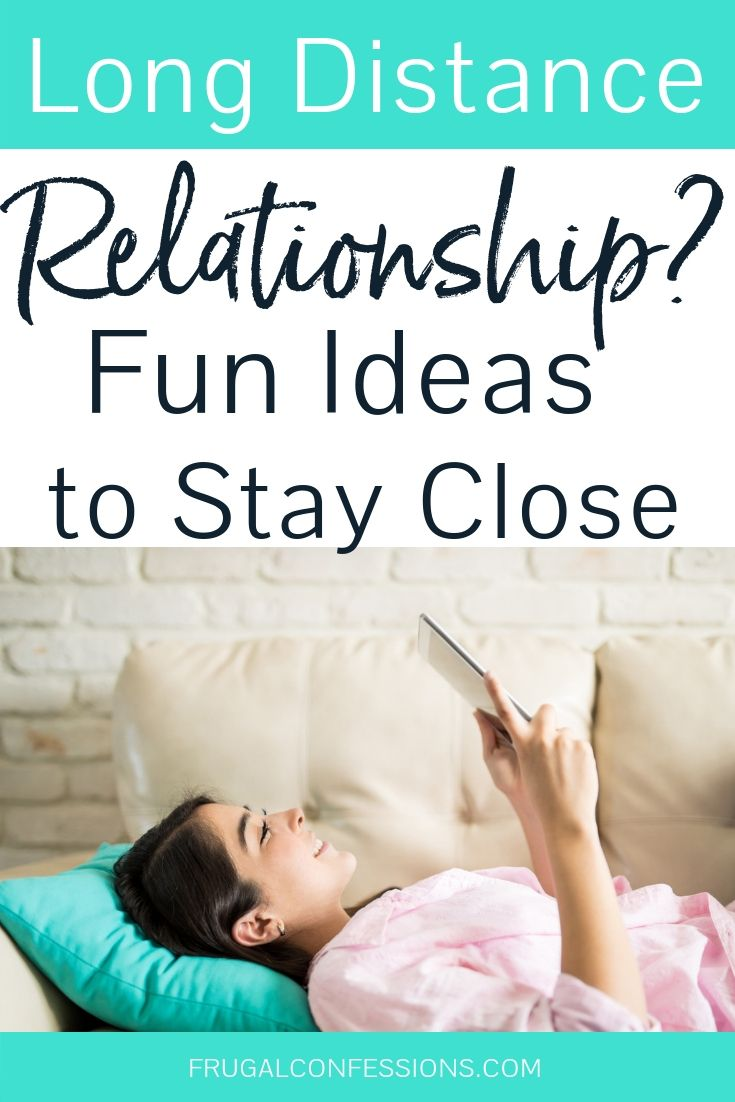 18 Long Distance Relationship Date Ideas (Cheap, and
