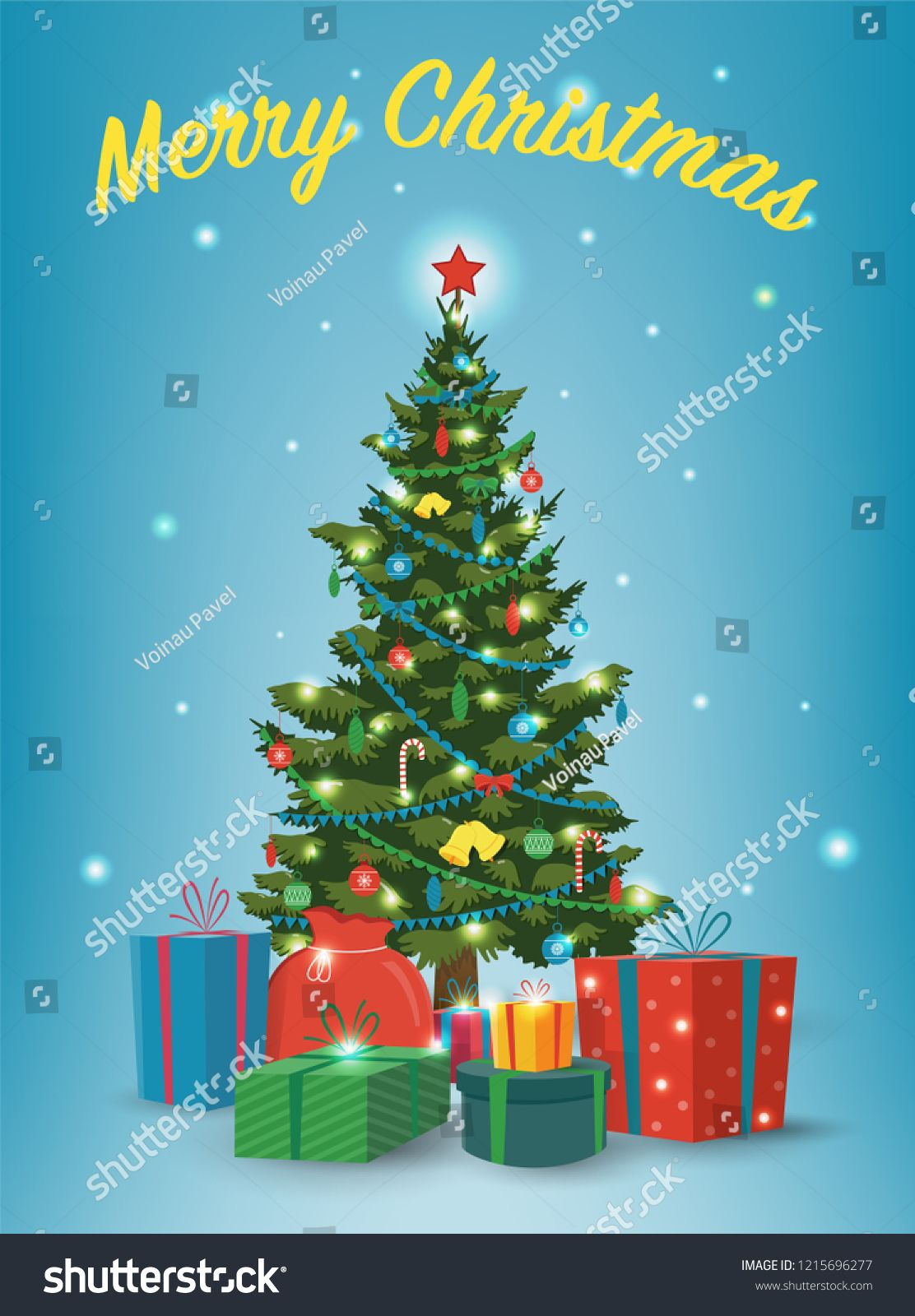 Christmas Tree With Decorations And Gift Boxes Holiday Background Merry Christmas And Happy Christmas Tree Decorations Christmas Tree Tree Wallpaper Nursery Hd wallpaper christmas tree gifts boxes