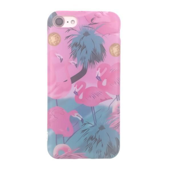 """LACK Fashion Cartoon Flower Stripe Dot Colorful Flamingo Case Cover For iPhone 6 6S Plus 4.7/5.5"""" Soft IMD Phone Cases & bags"""