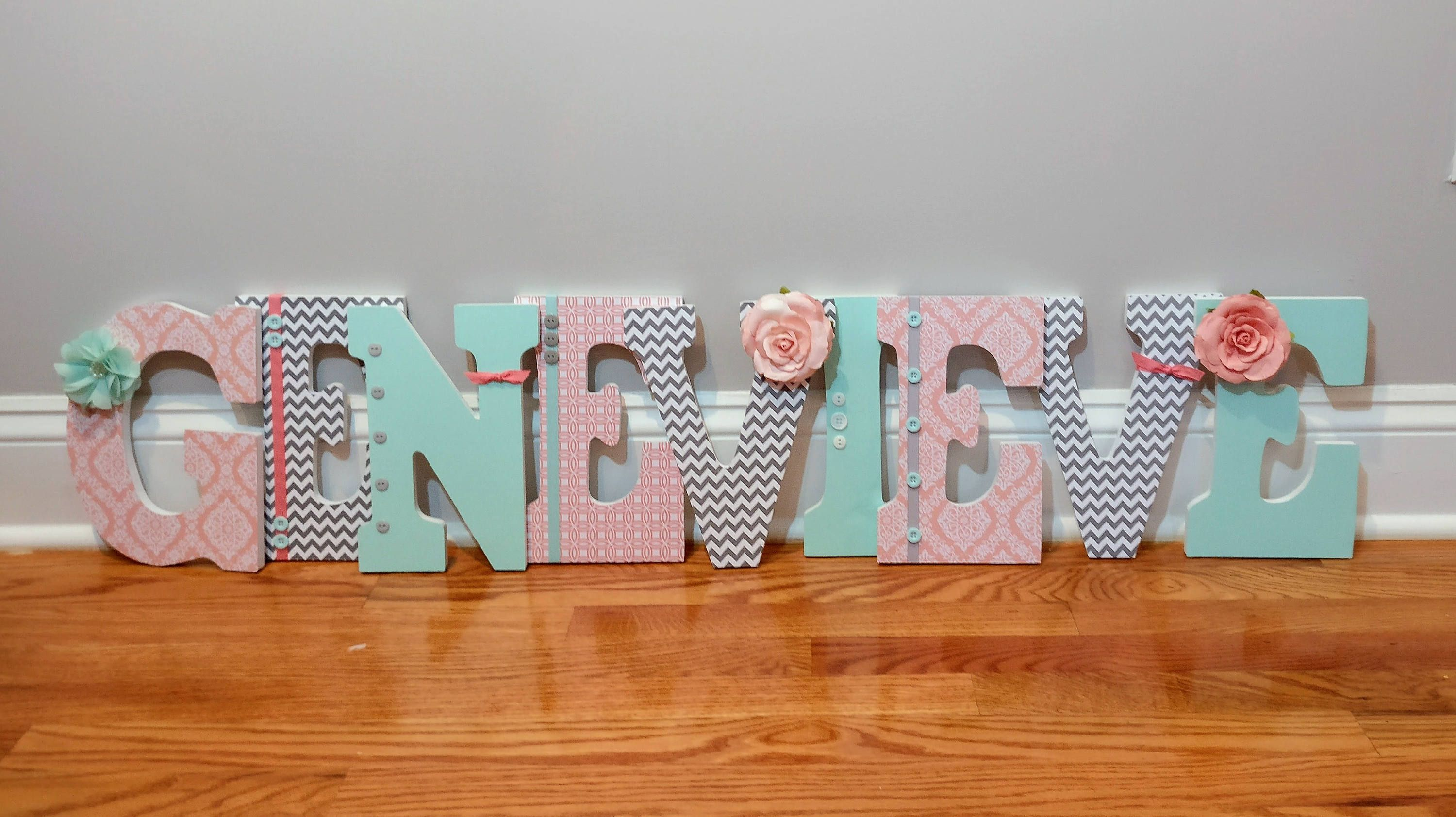 38 Best Baby Wooden Letters Images