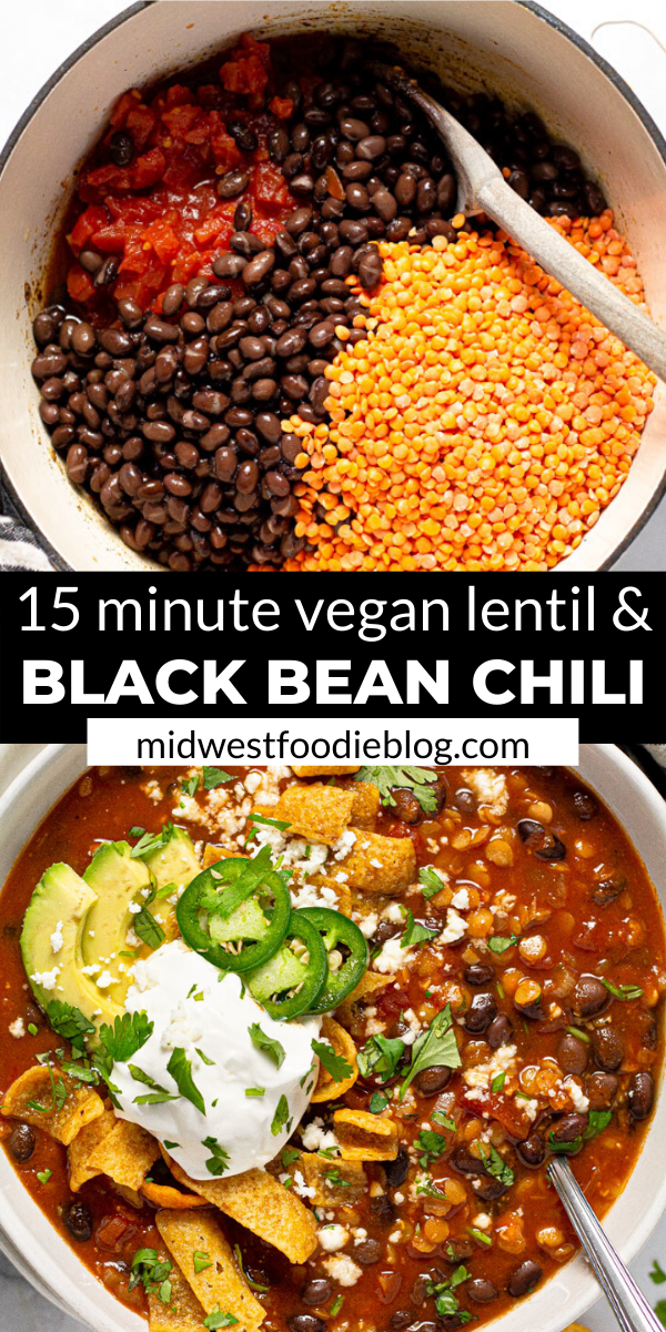 Vegan Black Bean & Lentil Chili -   - #animecharacters #animeeyes #animefunny #animeromance #animetumblr #Bean #black #Chili #foodideas #ideasforboyfriend #ideasposter #Lentil #projectideas #Vegan