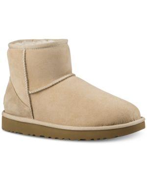 20b96057dda Ugg Women's Classic Ii Genuine Shearling-Lined Mini Boots - Black 5 ...
