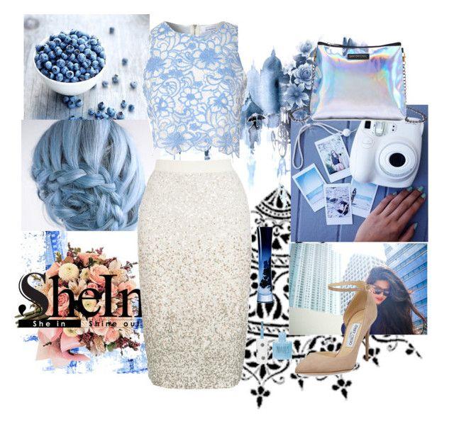 """Blueberry"" by soledad-trinidad on Polyvore featuring moda, True Decadence, xO Design, Jimmy Choo, Giorgio Armani y Topshop"