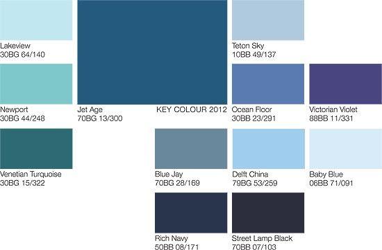 Blues Dulux Ocean Blue Paint Colors Types Of Color Trends