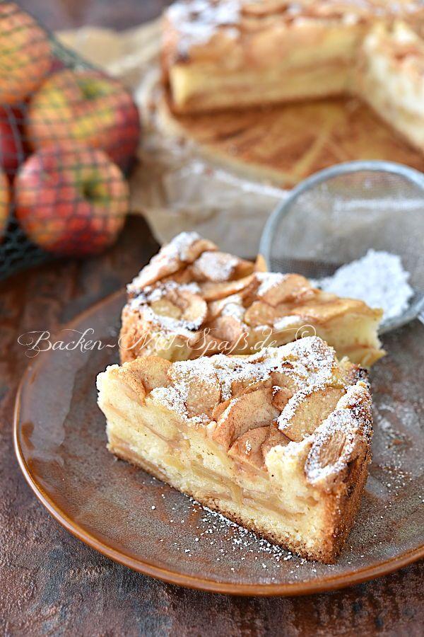 Jüdischer Apfelkuchen - Rezept