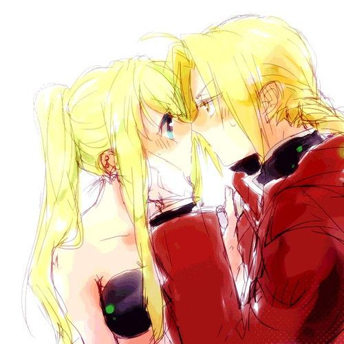 Winry and Ed