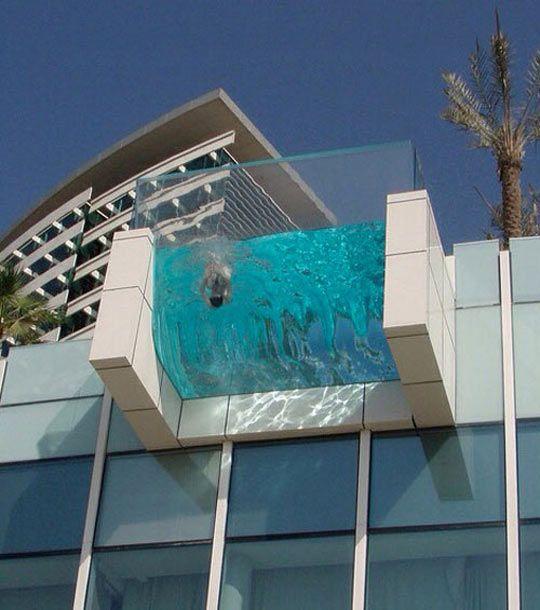 An Incredible Hanging Pool