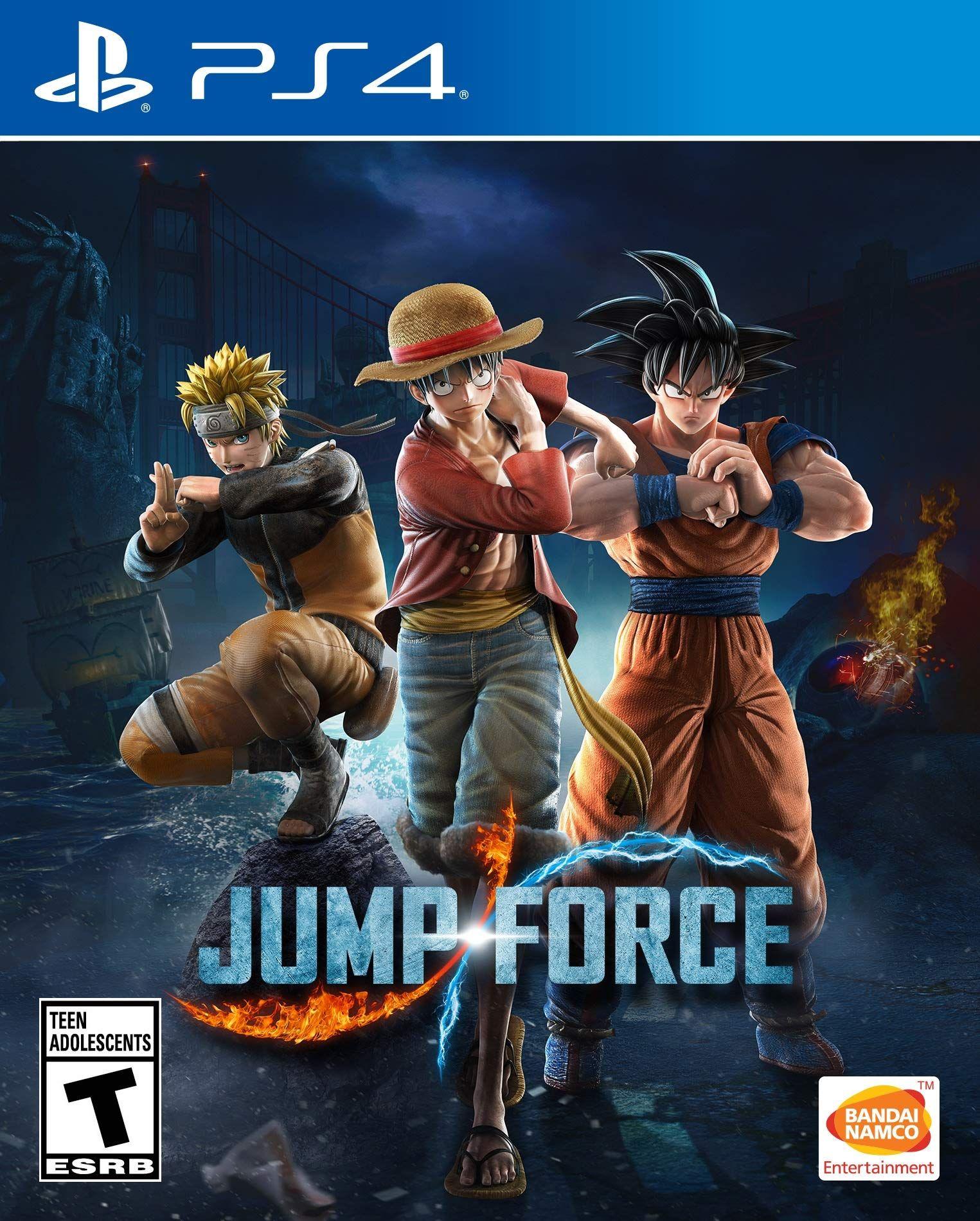 Jump Force Bandai Namco Entertainment Playstation 4 Bandai