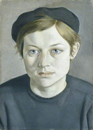 Girl with Beret - Lucian Freud, 1951