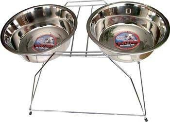 Loving Pets Stainless Steel High Tall Raised Bowls $30