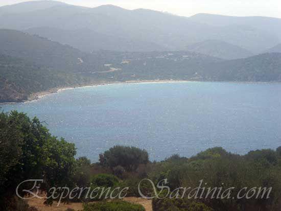 view of the Italian beach of su sirboni #Sardinia #Beaches