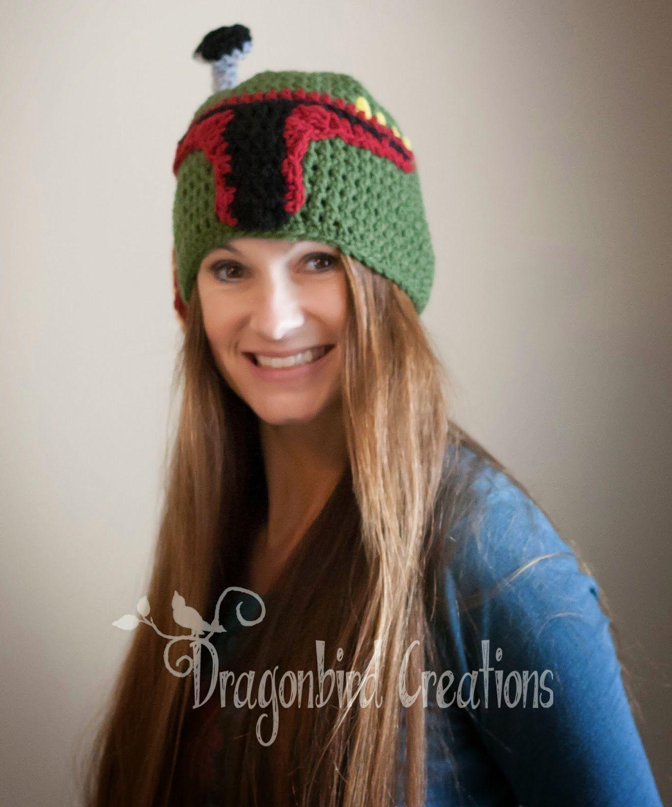 Crochet and Knitting: Adventures in Yarn: Boba Fett\'s Mandalorian ...