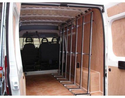 Porte verre int rieur en acier pour citroen jumper l2h2 amenagement camion - Acheter porte interieur ...