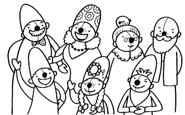 Kleurplaten Thema Familie.Thema Familie Schatkist De Mooiste Moeder Schatkist De