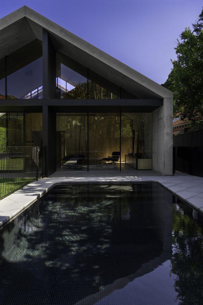 Gallery Of Extruded House Mck Architecture Interiors 13 Australian Interior Design Interior Architecture Interior Design Companies