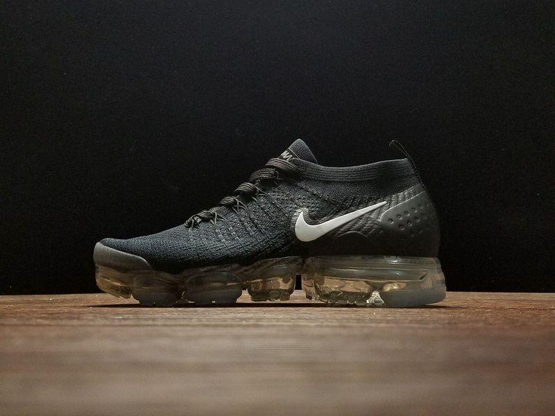 9512df08ce46 2018 New Nike Air VaporMax 942842-001 Flyknit 2.0 Mens Sneakers Black