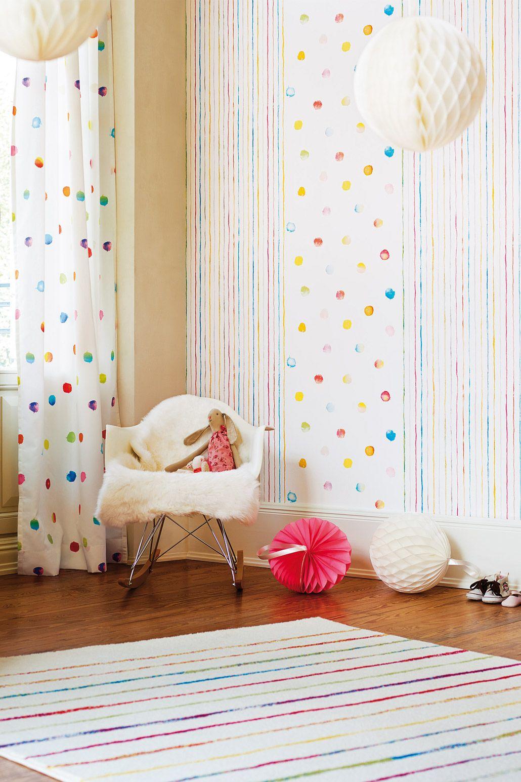 Esprit / Papier-Tapete stripes | Ideen fürs Haus | Pinterest ...