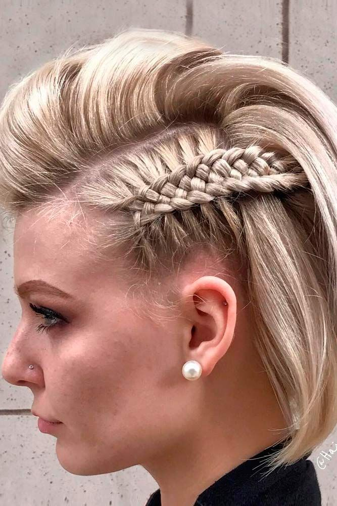 33 Amazing Prom Hairstyles For Short Hair 2020 Prom Hairstyles For Short Hair Hair Styles Short Hair Styles