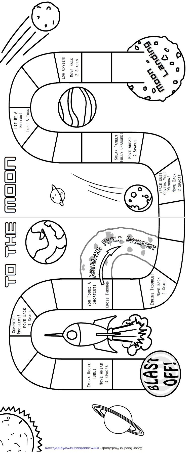 students will have a blast learning facts about the solar system with this board game science. Black Bedroom Furniture Sets. Home Design Ideas