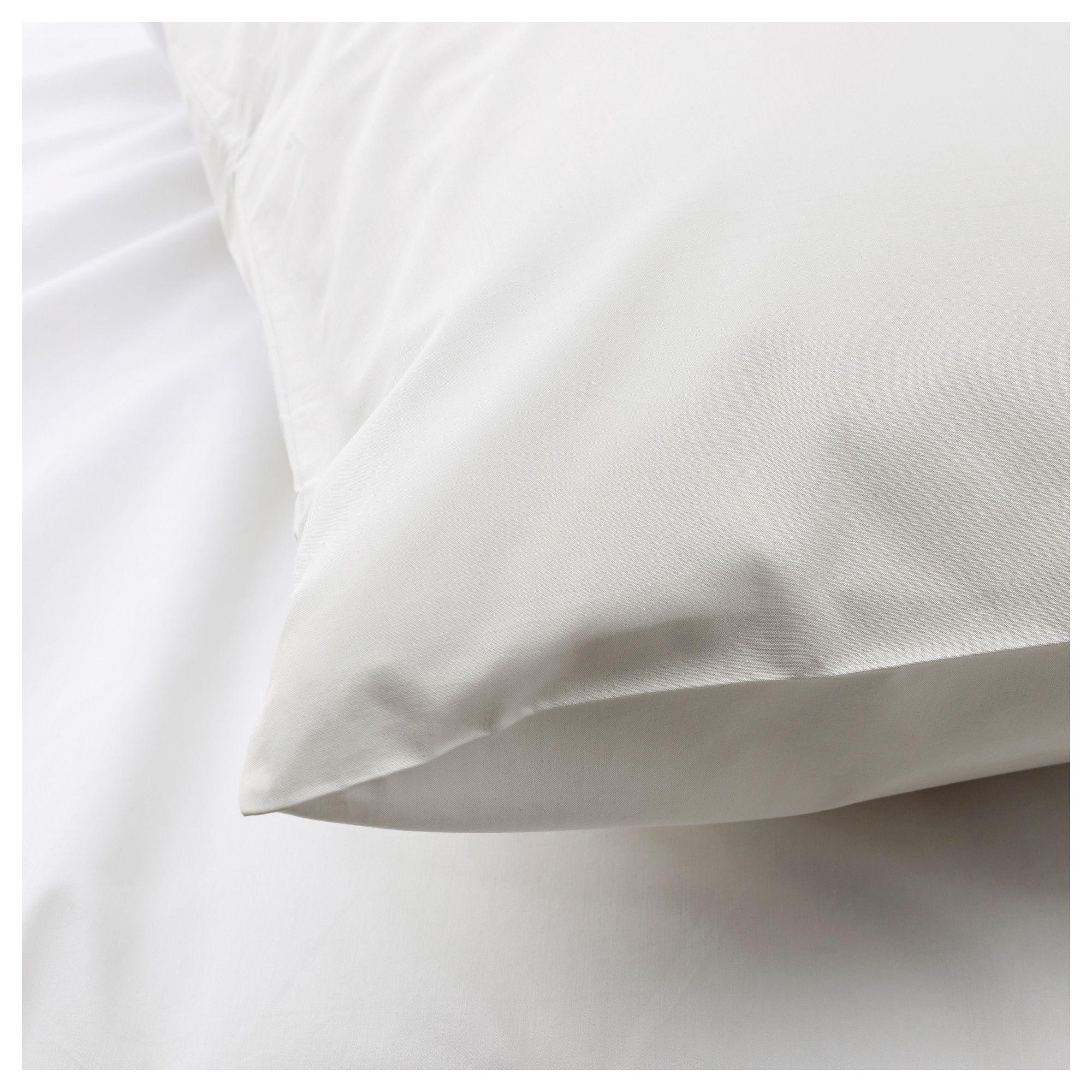 Pillowcase 50x90 white KRONBORG   JYSK
