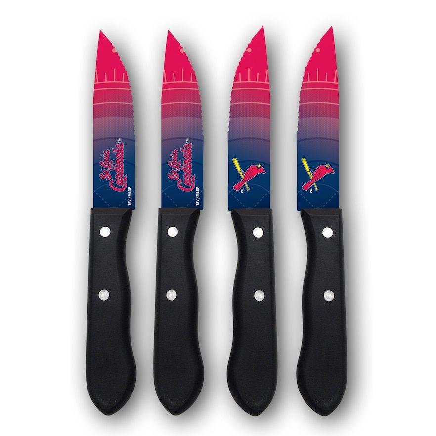 St. Louis Cardinals 4-Piece Steak Knife Set
