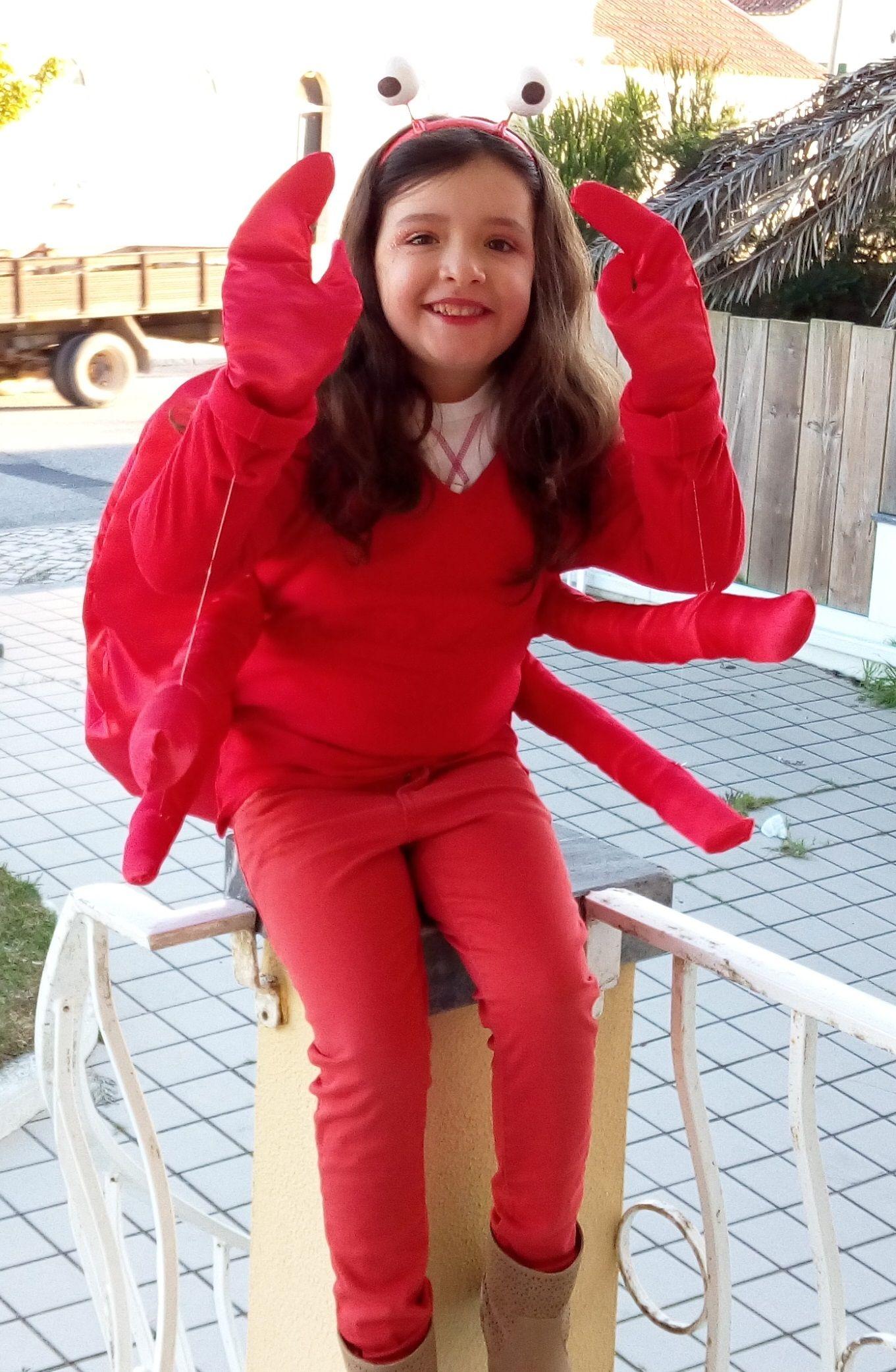 DIY Halloween Costume: Crab DIY Halloween Costume: Crab new foto