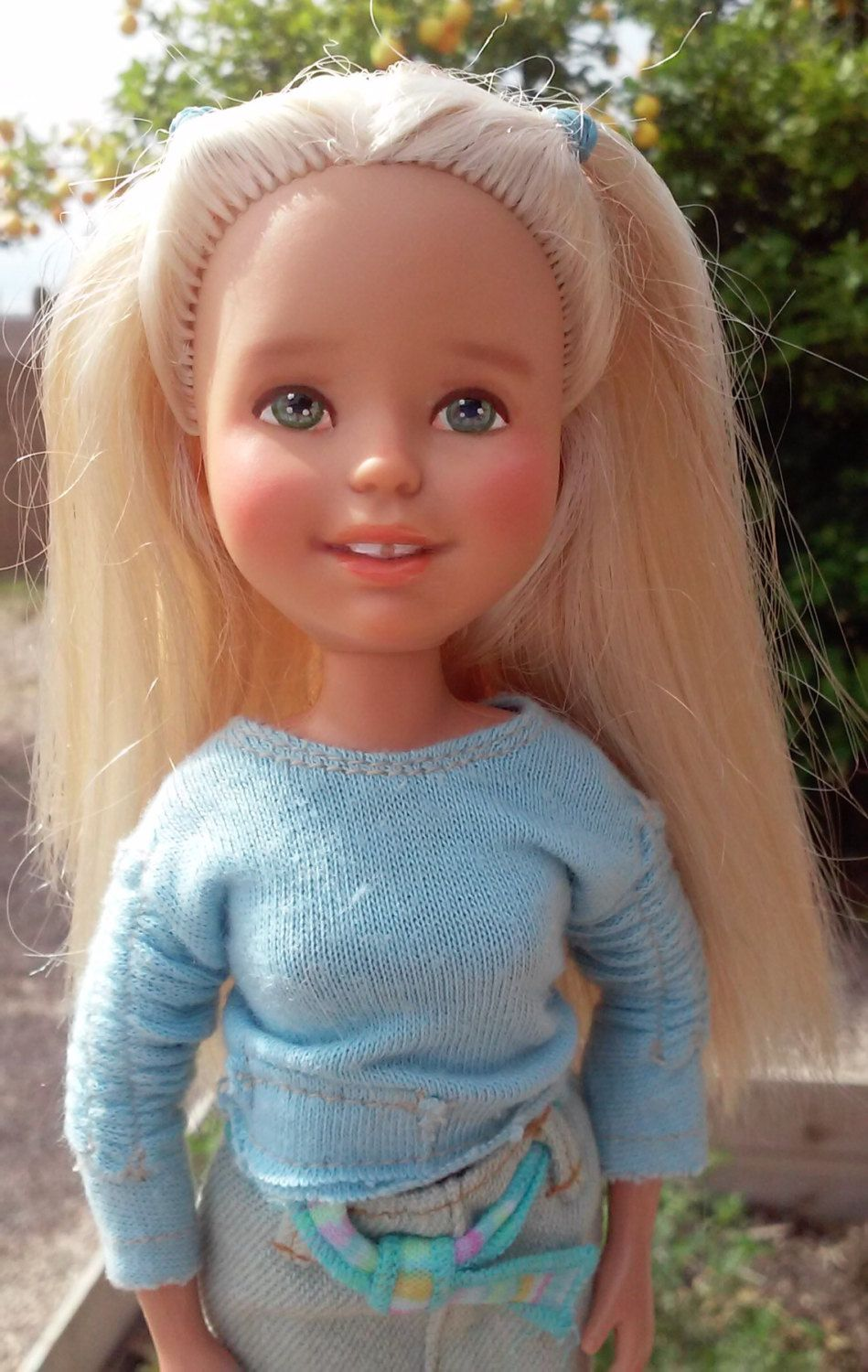 This listing is for a one of a kind made-under repainted Barbie doll ...
