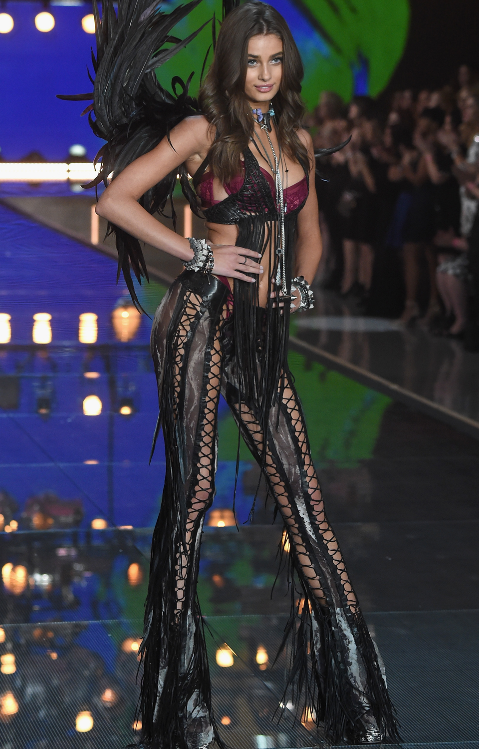 Taylor Hill 2015 Victoria Secret Fashion Show | ○ Runway ...