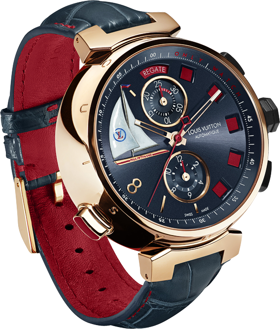 Louis Vuitton Tambour Spin Time Régate...   limited edition watches ... 8a82fda3f52