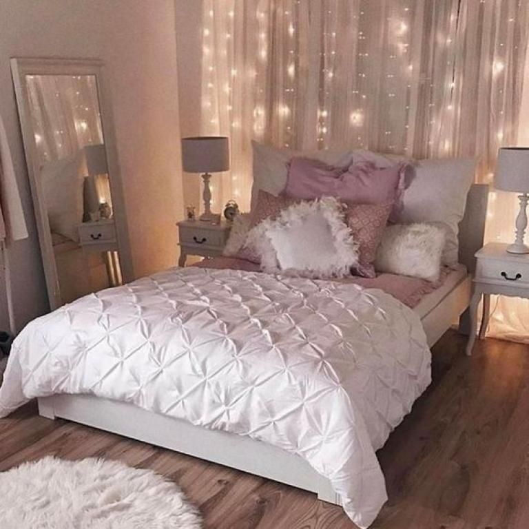 23 Best Grey Bedroom Ideas And Designs For 2020: Rose Gold Bedroom Design Ideas