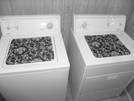 Decorative Fabric Covers For The Top Of Your Washer And