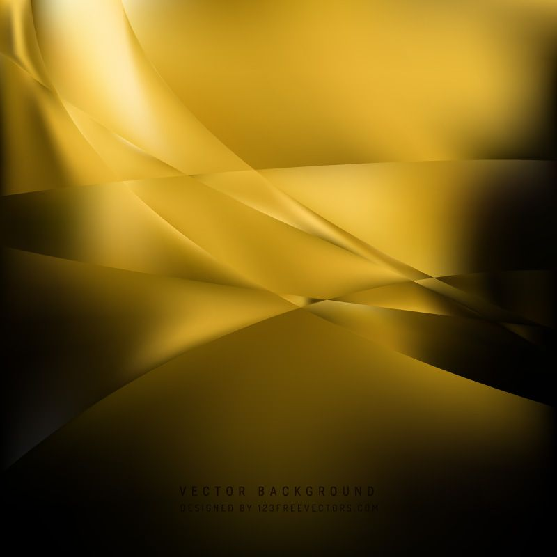 Black Yellow Abstract Background