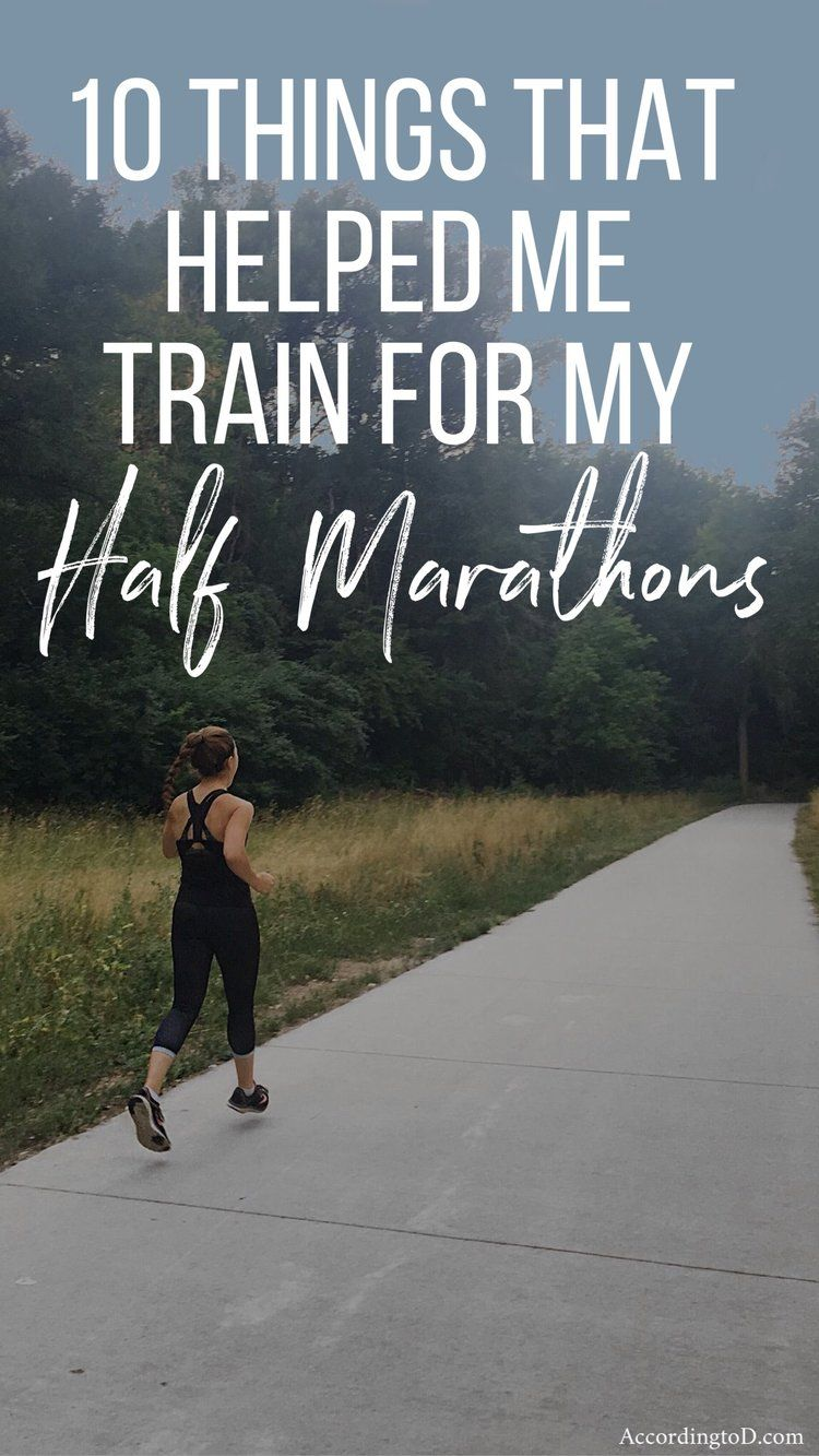 how long does it take to train for a half marathon from nothing