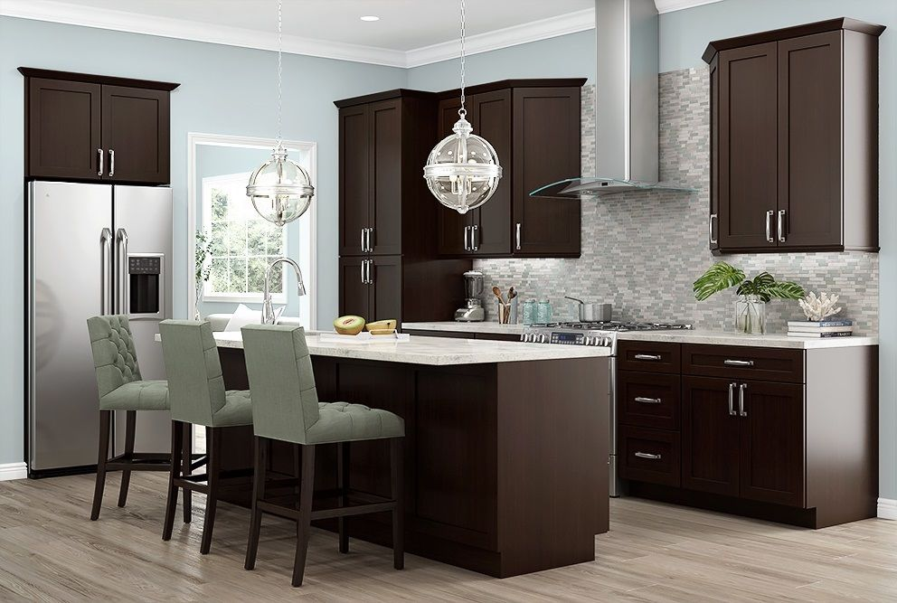 US Cabinet Depot Sonoma Mocha adds a rich stain finish to ...