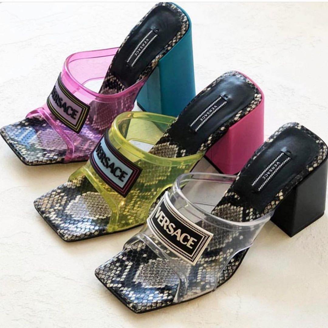 Versace shoes, Versace sandals