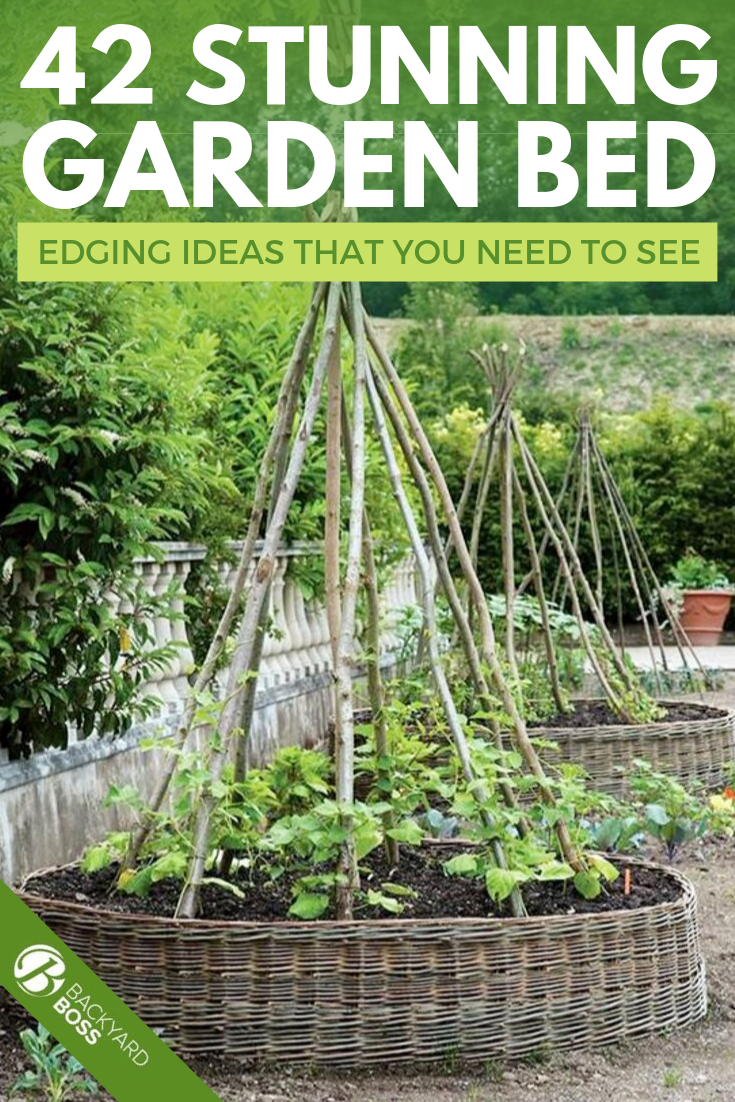 42 Beautiful Garden Bed Edging Ideas With Pictures Picking out plants is the easy part but have you seriously considered the steps needed before adding in your favorite g...