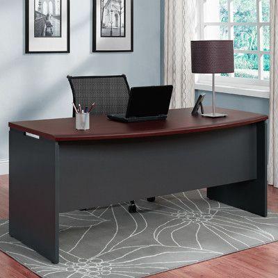 Latitude Run Elizabeth Desk Shell Home Office Furniture Sets