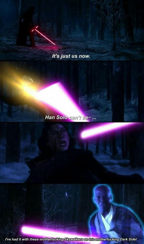Palpatine can't save you now #kyloren